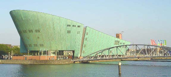 The NEMO Science Centre, Amsterdam