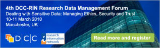 Link to Research Data Management Forum Event