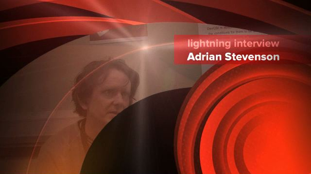Link to lightning Interview with Adrian Stevenson