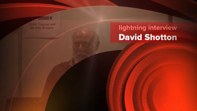 Link to lightning Interview with David Shotton